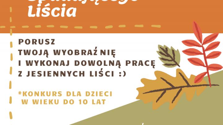 Plakat Dzień Spadającego Liścia
