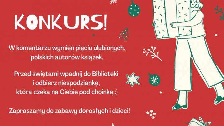 świąteczny konkurs plakat