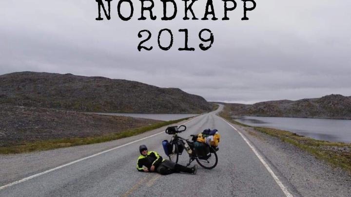 Plakat spotkania Rowerem na Nordkapp