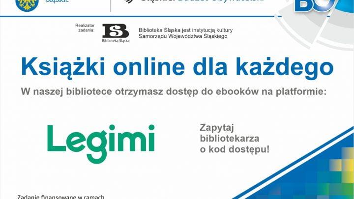 Plakat Książki online dla każdego